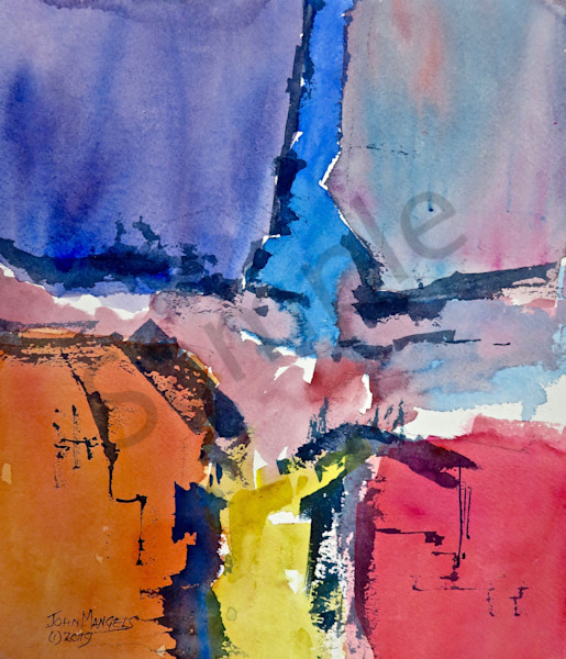 Watercolor Abstracts