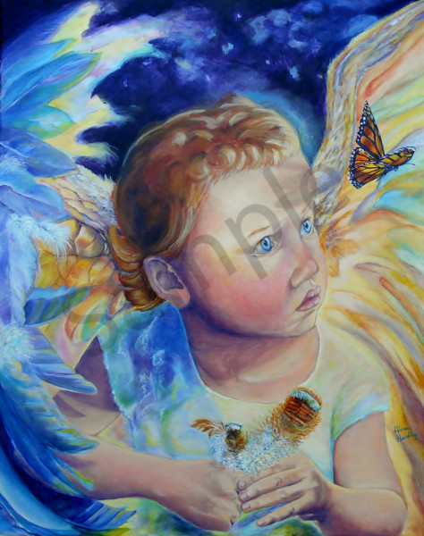 """Wonder"" by Indiana artist Gina Harding 