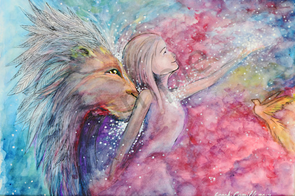 """The Lion Kiss"" by Sarah Camille Soltani Icely 