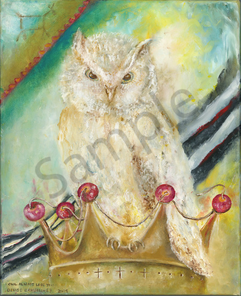 """Owl Always Love You"" by Denise Dahlheimer | Prophetics Gallery"