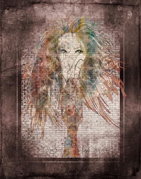 """Wisdom Lady"" by Virginia Digital Artist John W. Lewis | Prophetics Gallery"