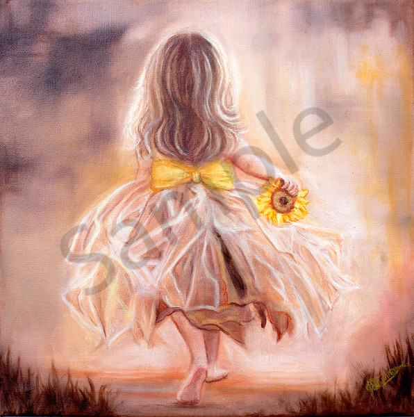 """You Carry My Sunshine"" by Canadian Artist Jeanette Sthamann 