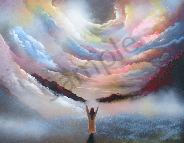 """The Glory of Jesus"" by Denmark Artist Bo Schultz | Prophetics Gallery"