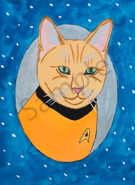 Star Trek Kittie 2 5x7