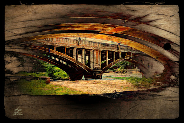 """Under The Bridge 2"" by John W. Lewis 