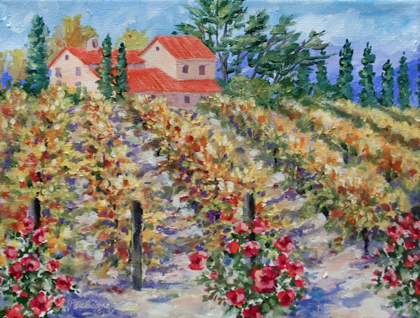 """Fall Vineyard"" by Jean Pierre DeBernay 