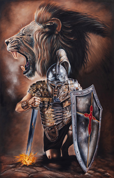 """Valiant Men"" by South Africa artist Ilse Kleyn | Prophetics Gallery"