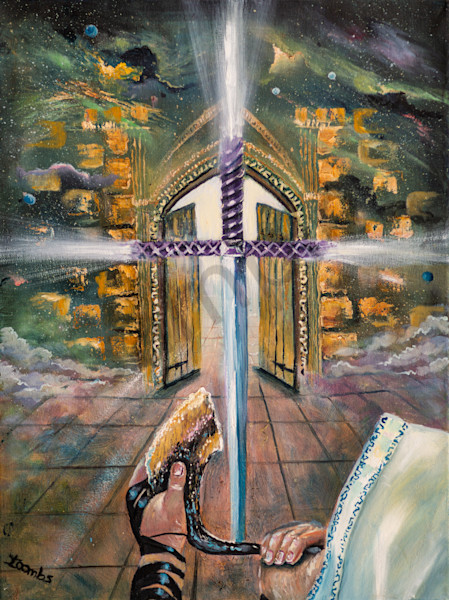 """Psalm 24"" by United Kingdom Artist Yvonne Coombs 
