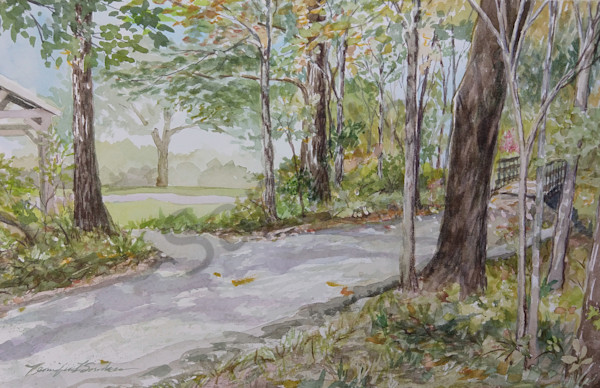 """Backwoods Trail"" by Jennifer Sowders 