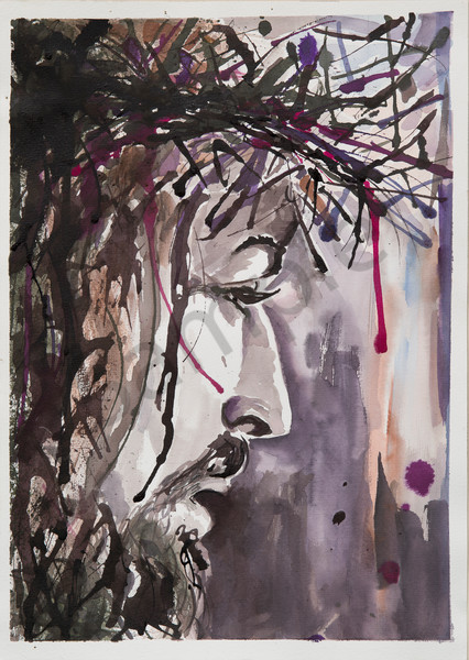 """Crown of Thorns"" by Australian Artist Cindy MacDonald 