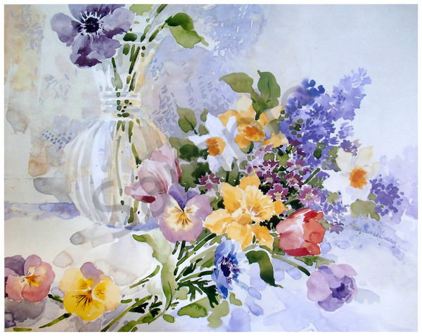 """Spring Bouquet"" by Jean Pierre DeBernay 