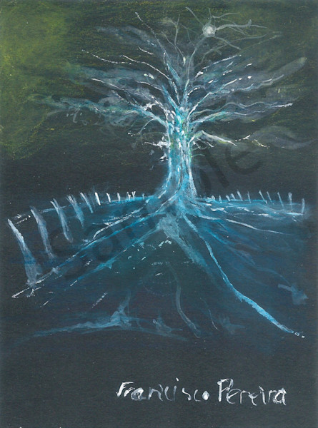 """""""Blue"""" by South African Prophetic Artist Frank Pereira   Prophetics Gallery"""
