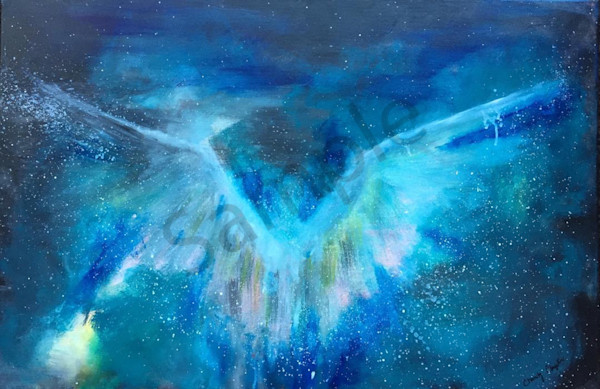 """""""Angelic"""" by New Mexico artist Christy Clugston 
