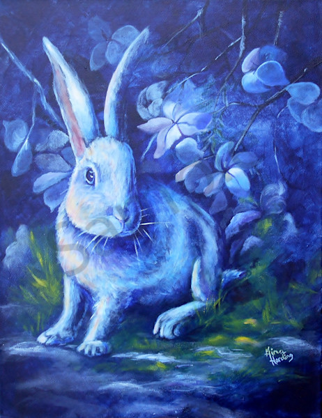 """Moon Rabbit"" by Indiana Artists Gina Harding 