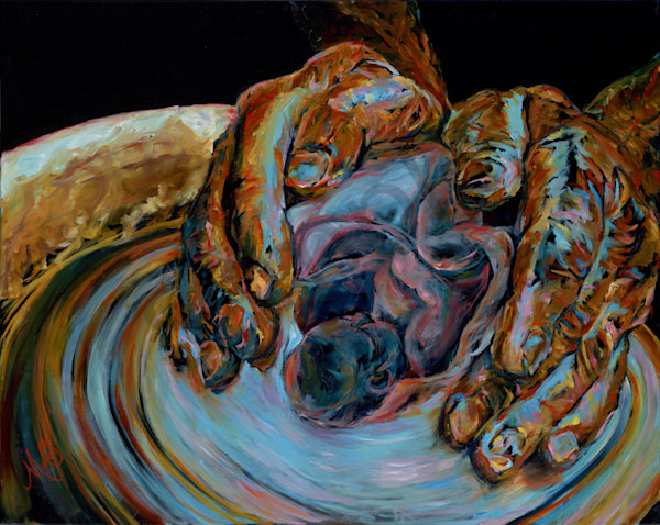 """""""New Life"""" by California Artist Mary Crawford   Prophetics Gallery"""