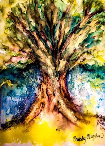 """Glory Oak"" by Ne Mexico Artist Christy Clugston | Prophetics Gallery"