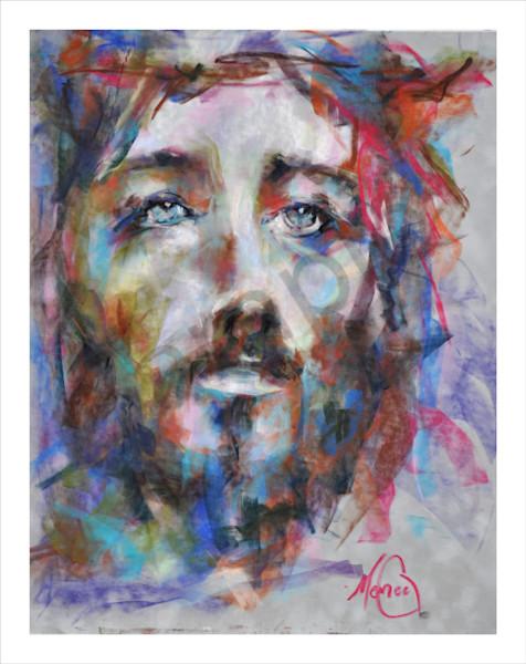 """Savior"" by California Artist Mary Crawford   Prophetics Gallery"