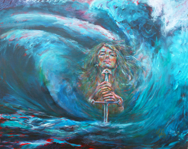 """Storms Create Beauty"" by California Artist Mary Crawford 