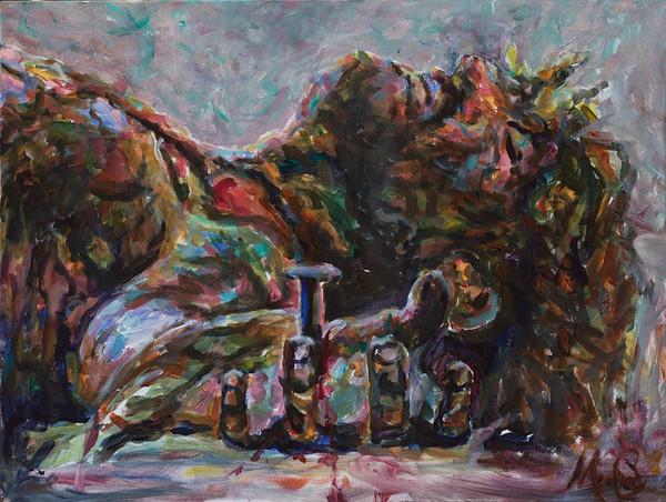 """Pierced"" by California Artist Mary Crawford   Prophetics Gallery"