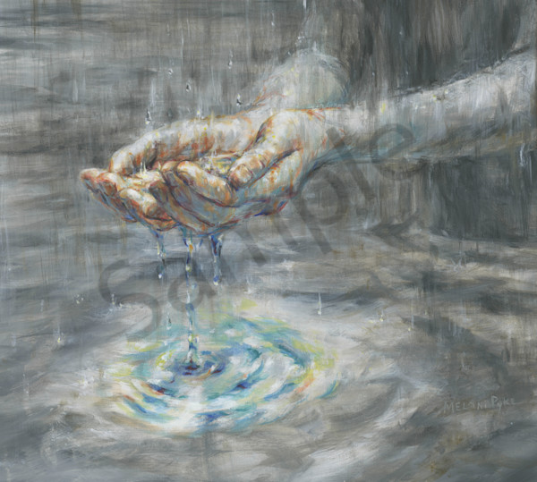 """Spreading Light Despite The Present Storm"" by Canadian Artist Melani Pyke 