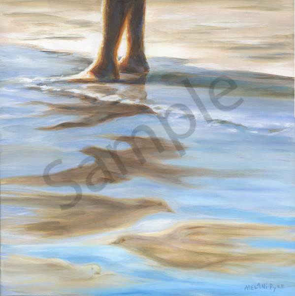 """Finding Hope In Shallow Water"" by Canadian Artist Melani Pyke 