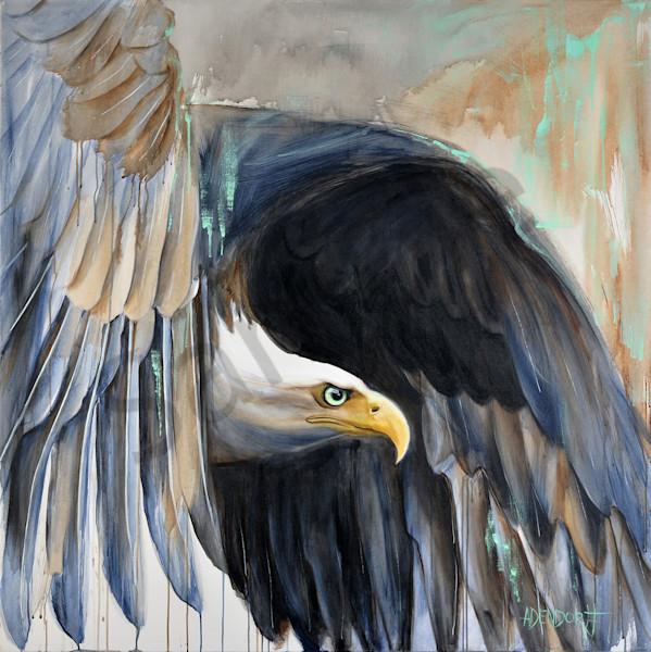 """Undaunted - Eagle"" by Connecticut Artist Mandy Adendorff | Prophetics Gallery"