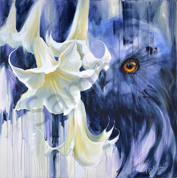 """Night Slayer"" by Connecticut Artist Mandy Adendorff   Prophetics Gallery"