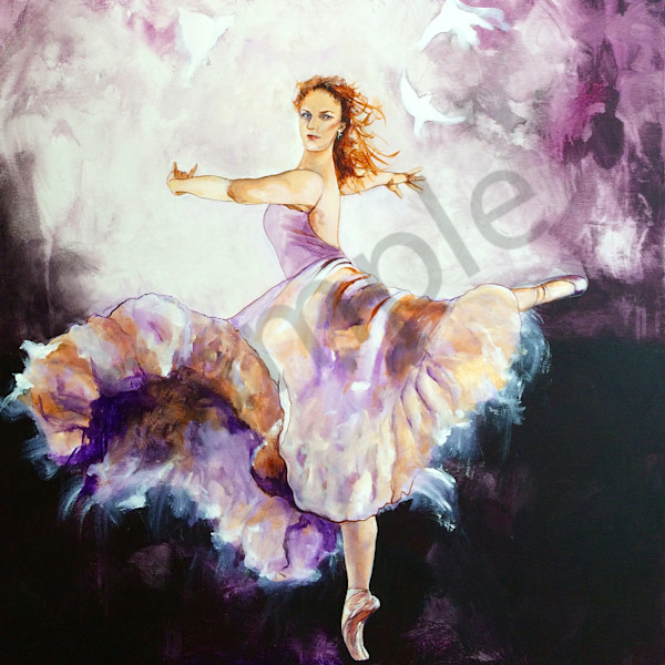 """Dance To The Lord"" by Australian Artist Grace Bailey 