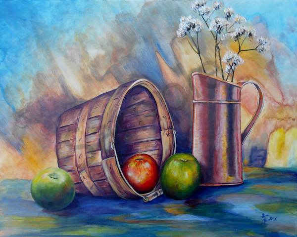 """""""Fruits of Harvest"""" by Indiana Artist Gina Harding 