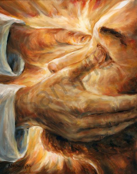 """Jesus Heals A Blind Man II"" by Canadian Artist Melani Pyke | Prophetics Gallery"