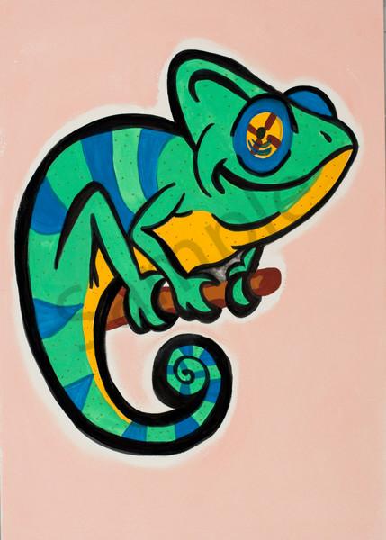 Chameleon 5x7