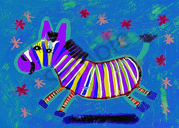 Zebra 5x7