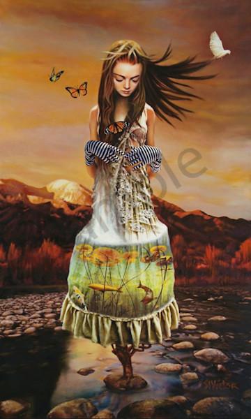 Lady Gaia Art | St. Victor Diaries