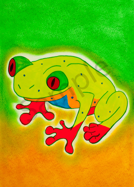 Tree Frog 5x7
