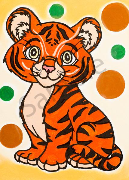 Tiger Cub 5x7