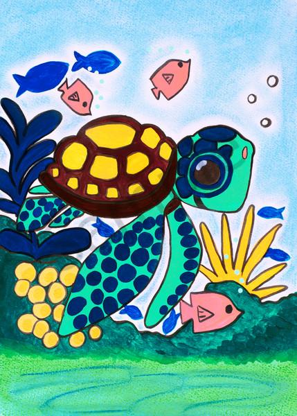 Sea Turtle 5x7