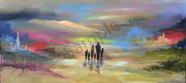 """Family"" by Denmark Artist Bo Schultz | Prophetics Gallery"
