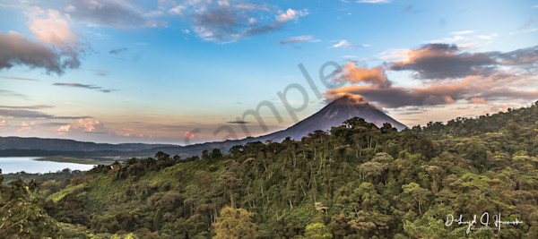 """Sunset at Arenal Volcano"" PhotoDiscoveries"