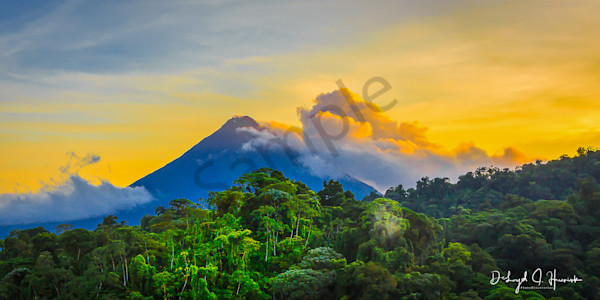 """Sunrise at Arenal Volcano"", PhotoDiscoveies"