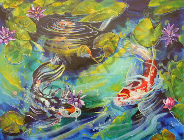 """""""Grace Like Water' by Gina Harding   Prophetics Gallery"""