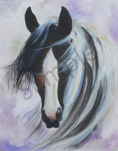 """""""Painted Pony"""" by Indiana Artist Gina Harding   Prophetics Gallery"""
