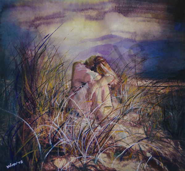 """Lost In Thought"" by New Mexico Artist Penny Winn 
