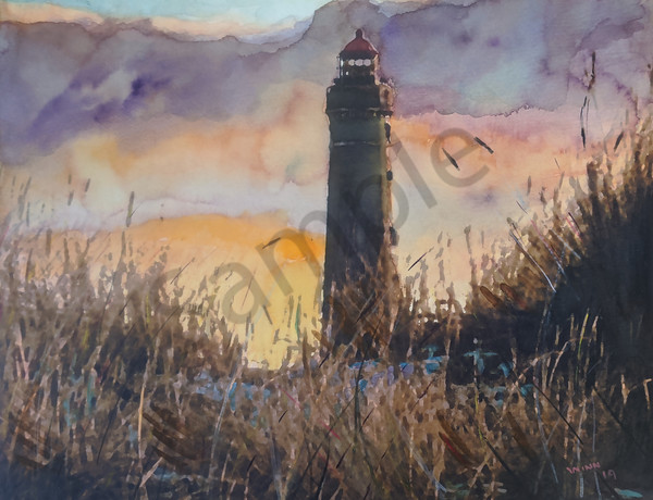 """Lighthouse"" by New Mexico Artist Penny Winn 