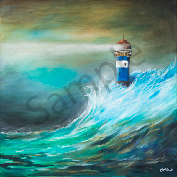 """Lighthouse"" by German Artist Angela Günther 