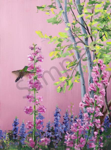 In Mamas Garden 1 Art   Roxana Sinex Art