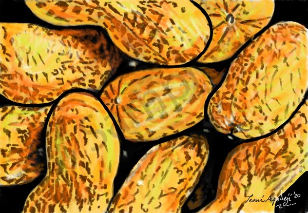 Handful Of Nuts Art | TEMI ART, LLC.
