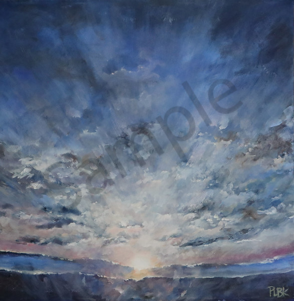 """""""A New Day"""" by Canadian Prophetic Artist Patricia Bowman Kingsley 