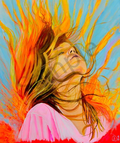 """Resurrection Life"" by German Artist Anke Wiemer | Prophetics Gallery"