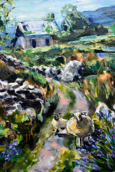 """Staying On The Path"" by Pennsylvania Artists April Ryan 