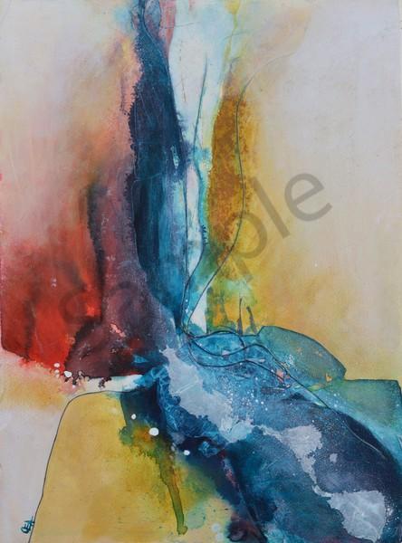 """In the Overflow"" by Australian Artist Olivia Alexander | Prophetics Gallery"